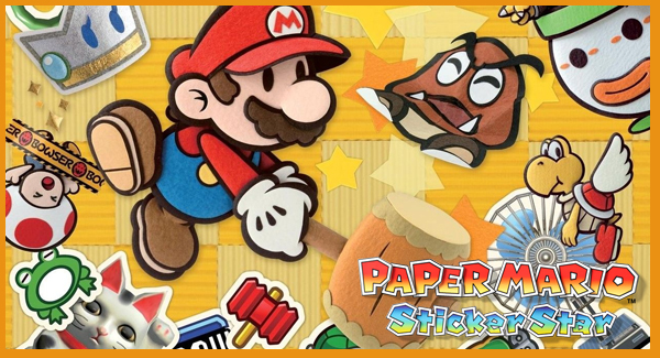 Paper Mario Sticker Star header