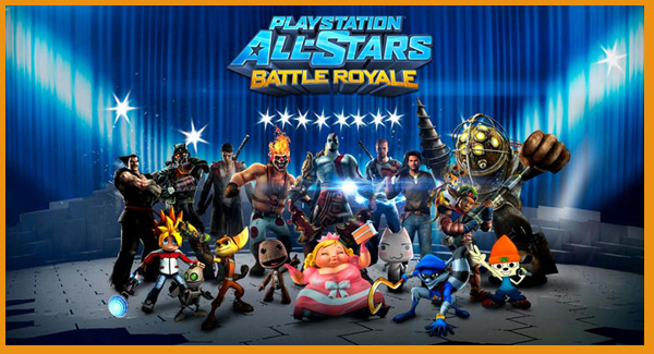 Playstation All-Stars Header
