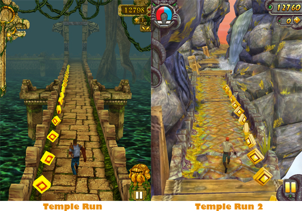 Temple Run Comparison