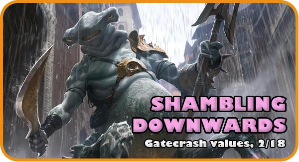 Shambling Downwards